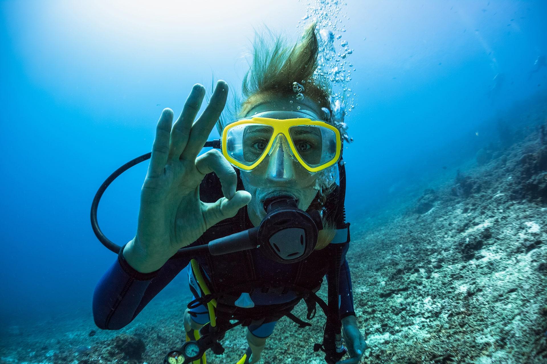 Potápačský kurz CMAS P1